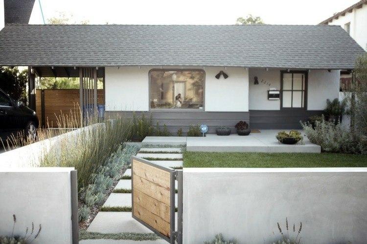 diseños modernos pasiajes jardin