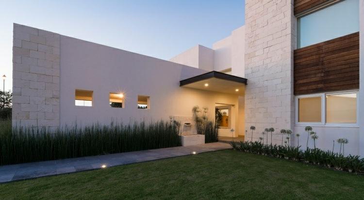 Minimalismo en el jard n 100 dise os paisaj sticos for Fachadas de casas minimalistas 2016