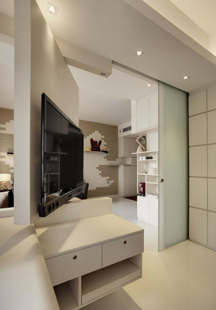 Apartamentos distribucion y dise o para interiores peque os for Iluminacion departamentos pequenos