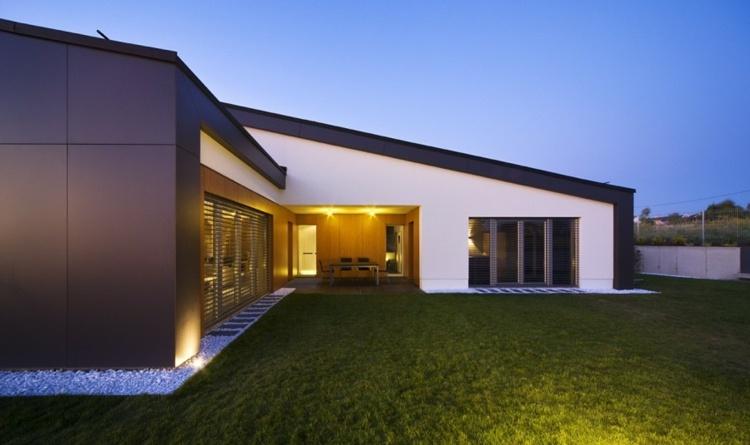 diseños originales jardines minimalistas Villa
