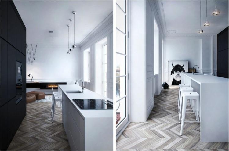 originanels muebles cocina minimalistas
