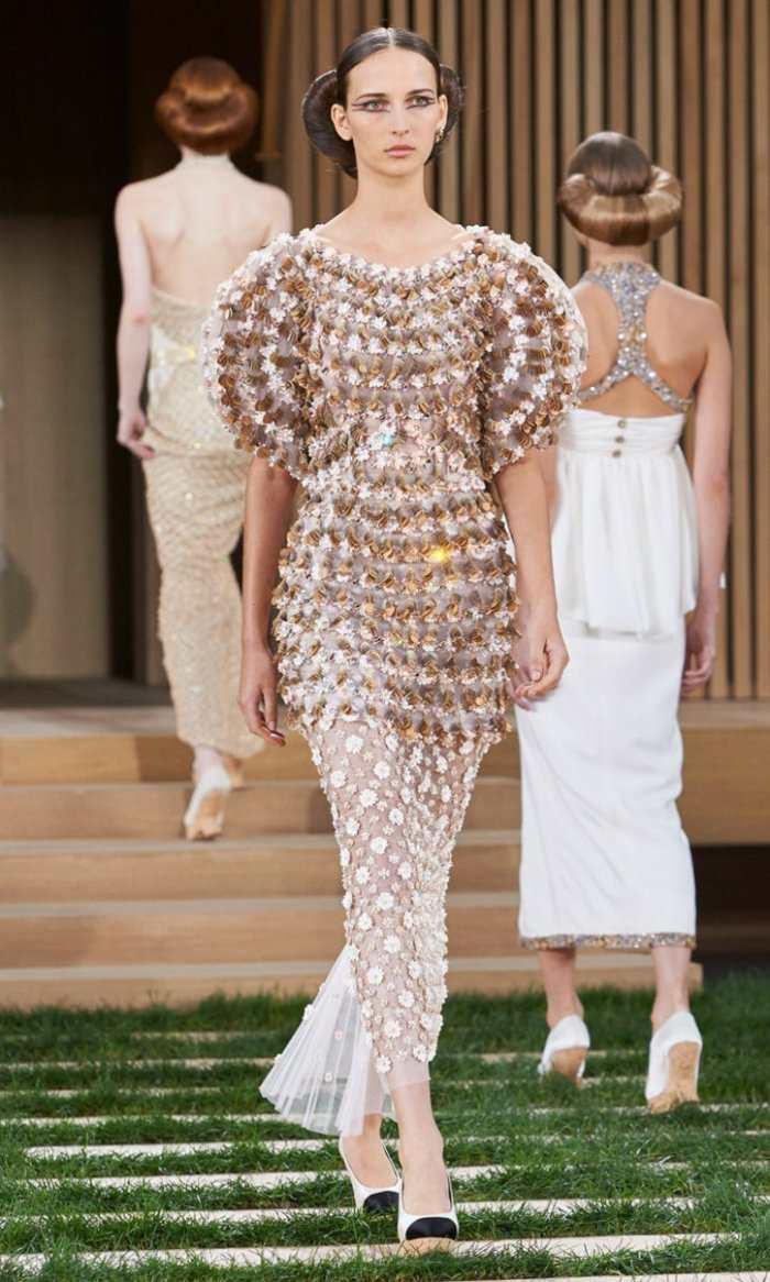 diseños vestidos temporada 2016 Chanel
