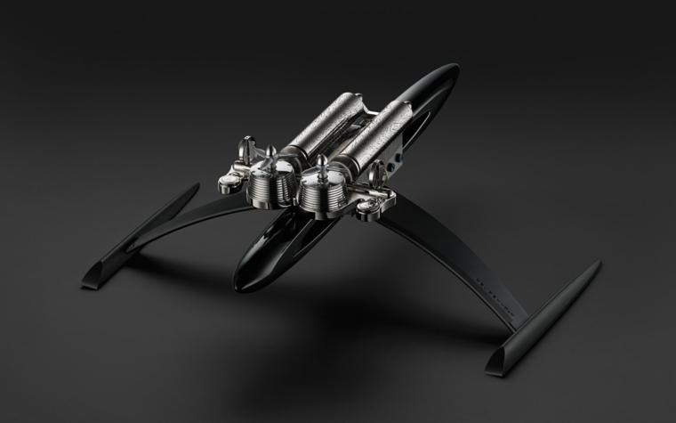 diseño maqueta replica starwars