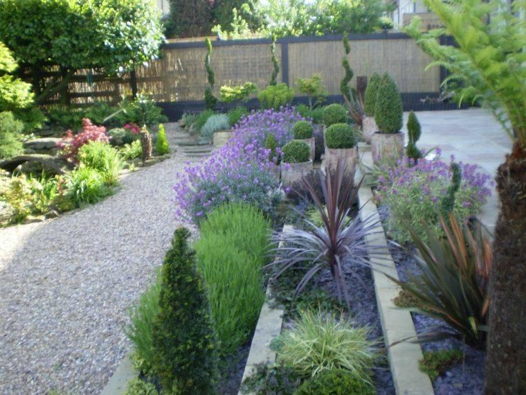 diseño de jardines terrazas amplio ideas