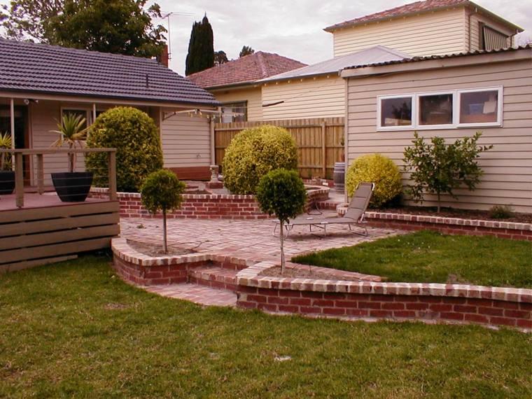 diseño de jardines terrazas diseno contempopraneo ideas