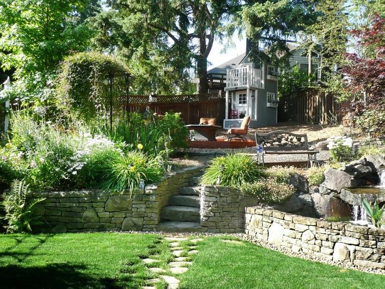diseno jardines terrazas entretenimiento aire libre ideas