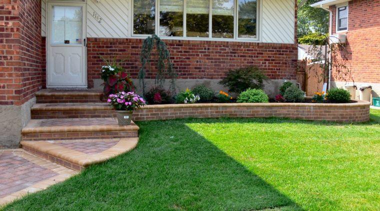 diseno jardines terrazas limpio entrada casa ideas
