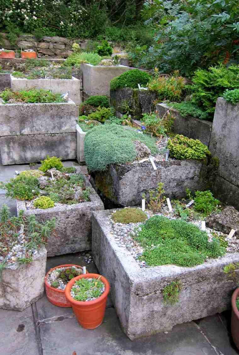 diseno jardines terrazas macetas grandes opciones interesantes ideas