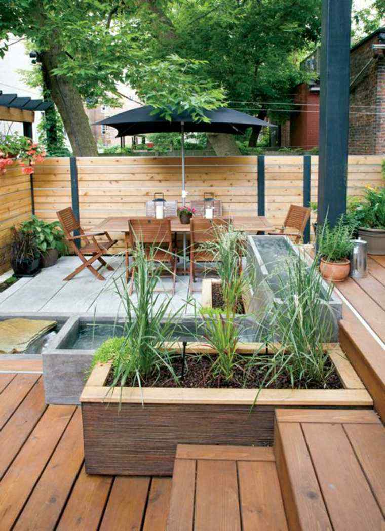 Dise o de jardines 100 ideas de terrazas en el jard n - Terrazas y jardines ...