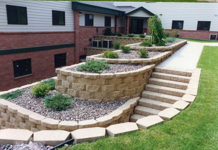 diseno jardines terrazas opciones artisticas ideas