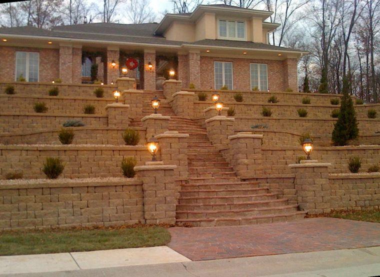 diseno jardines terrazas opciones casa grandes ideas