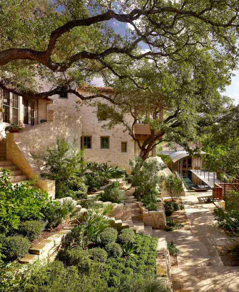 diseno jardines terrazas verde naturalidad ideas
