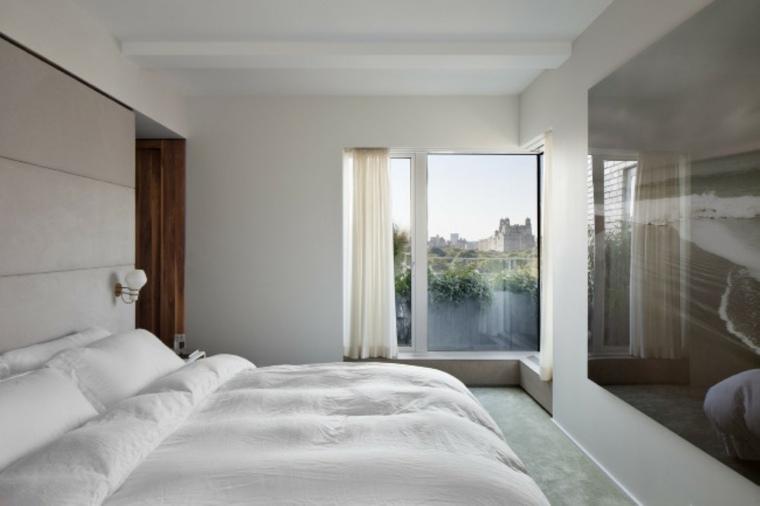 diseno minimalista interior pared brillante ideas