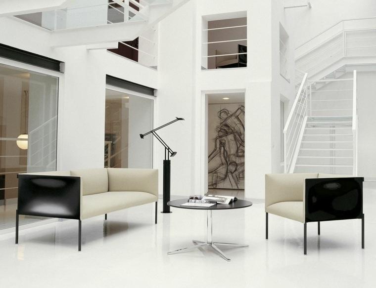 diseno minimalista interior sofas origianles ideas
