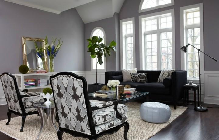 dorados muebles salones sillas estilos flores