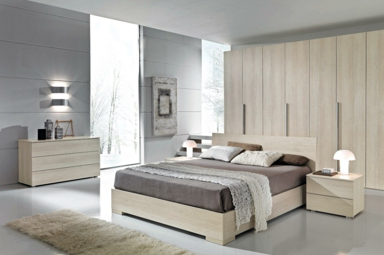 dormitorio moderno diseno moderno epacios amplios ideas