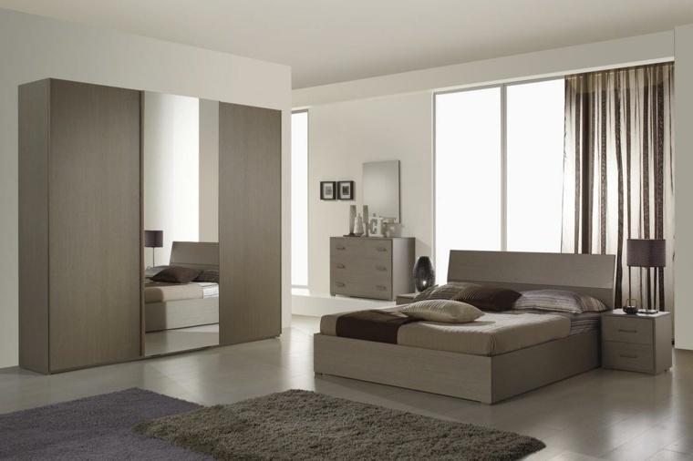 Detalles y mas opciones para decorar el dormitorio moderno - Diseno de armarios online ...