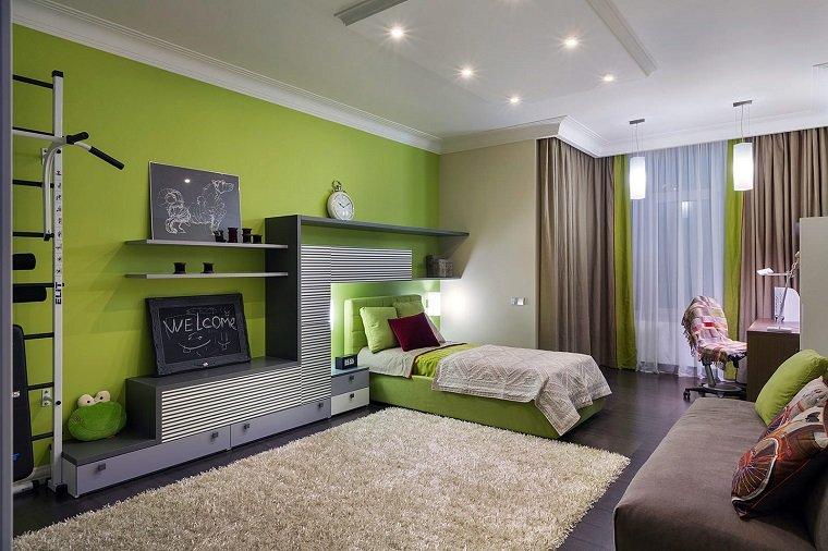 dormitorio-ninos-color-verde