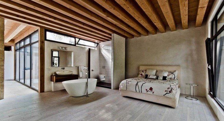 Dormitorios con vestidor y ba o 50 opciones de dise o for Cuartos de bano bonitos