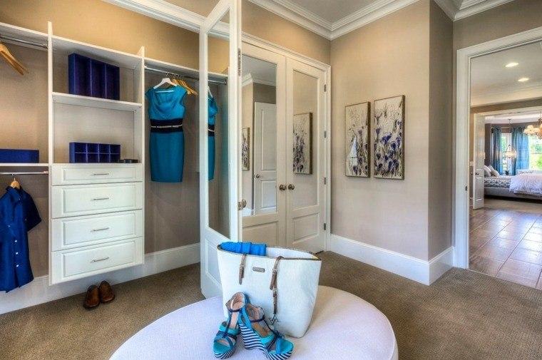 dormitorios con vestidor y baño color beige ideas