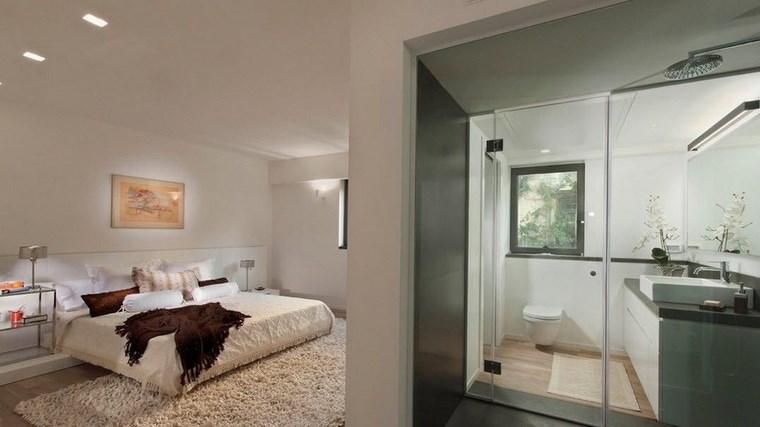 dormitorios con vestidor y baño cuadro decorativo ideas