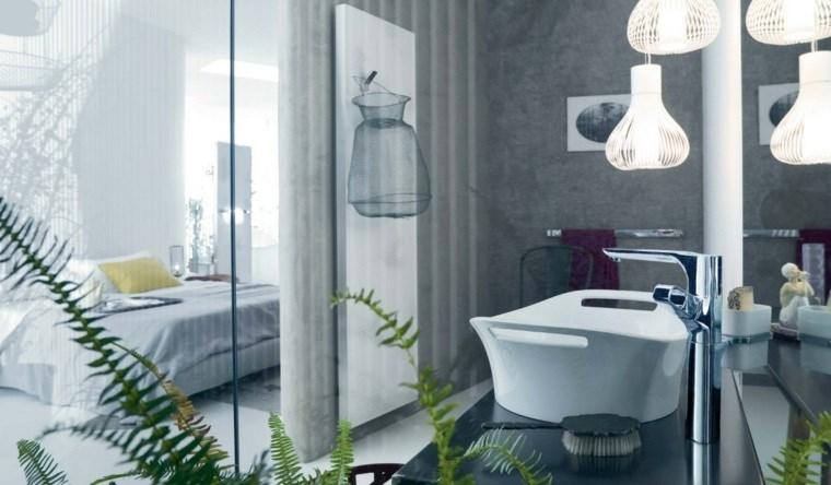 dormitorios vestidor o baño lampras preciosas ideas