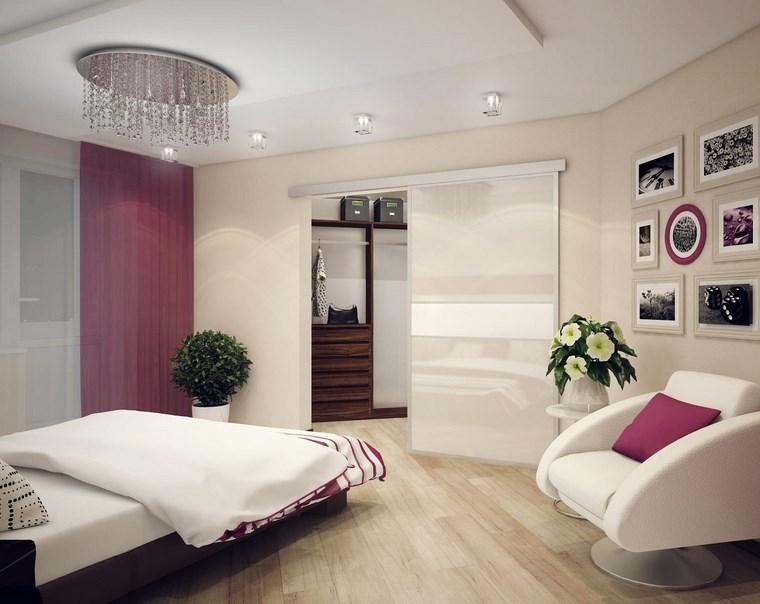 dormitorios vestidor bano plantas sillon ideas
