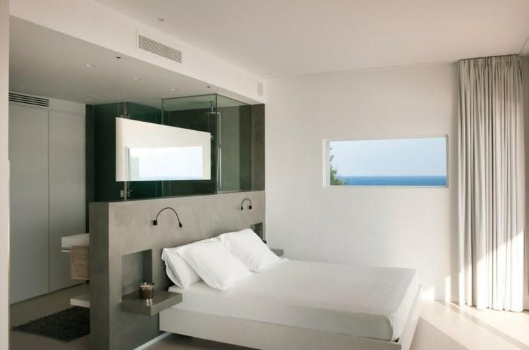 dormitorios vestidor bano respaldo original ideas