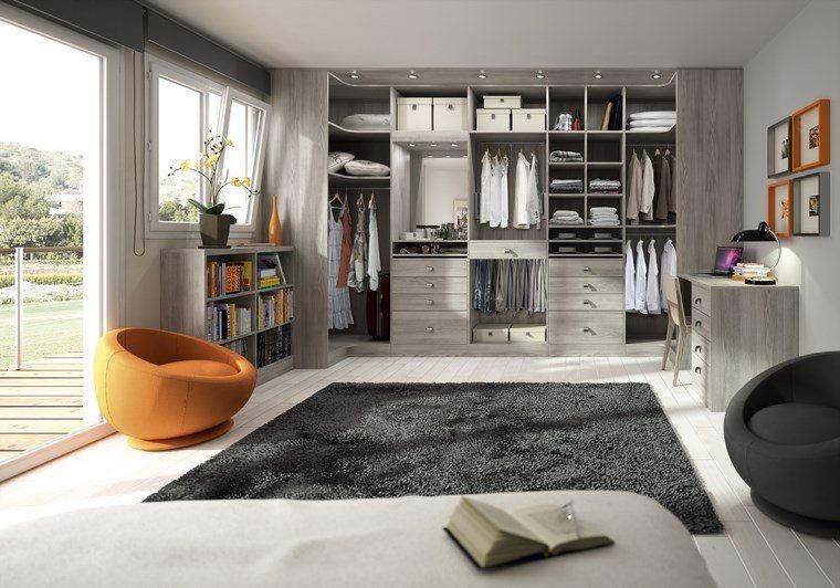 dormitorios vestidor bano sillones modernos ideas