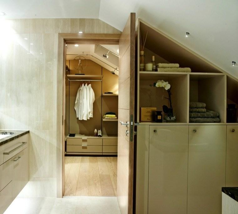 dormitorios vestidor bano techo abovedado ideas