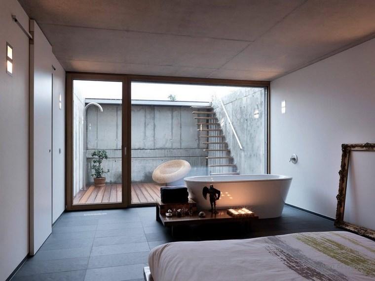 dormitorios vestidor bano vistas jardin trasero ideas
