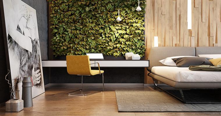 dormitorios diseño moderno natural