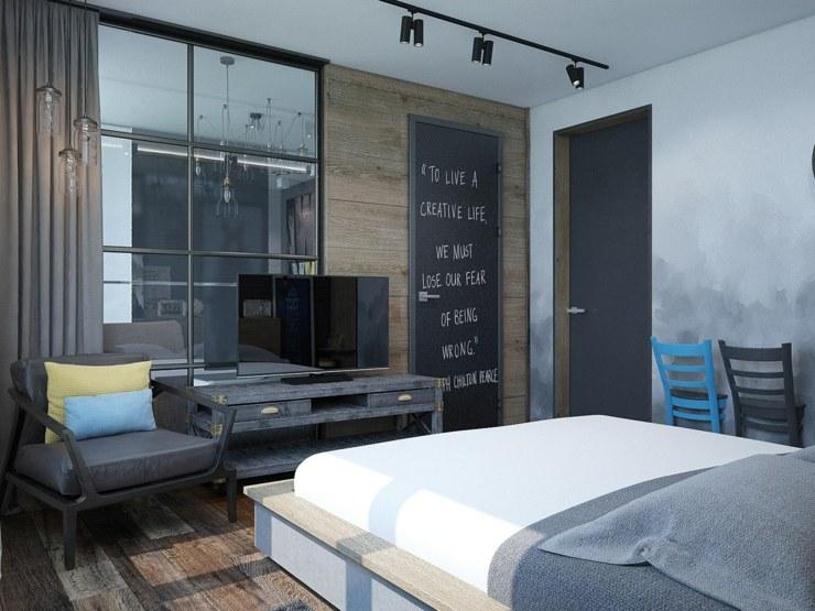 dormitorios decoracion moderna cristales elementos negro
