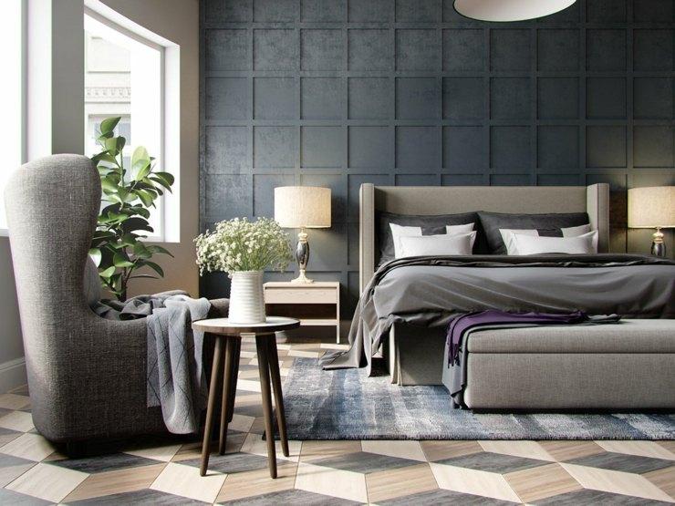 dormitorios decoracion moderna grises negro colore