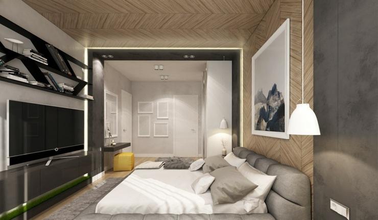 dormitorios decoracion moderna maderas salones