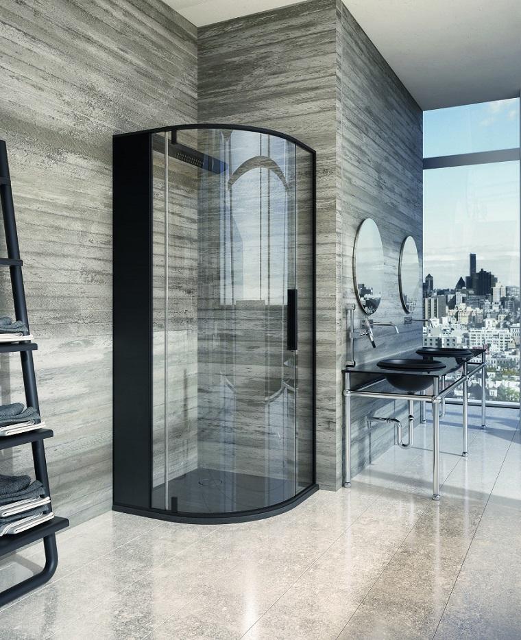 Imagenes de ba os 102 ideas para espacios modernos for Espejo ducha