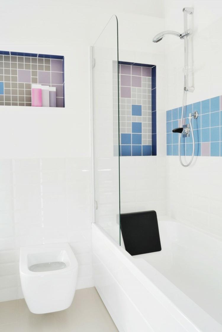 duchas opciones banos pequenos losas color bano ideas