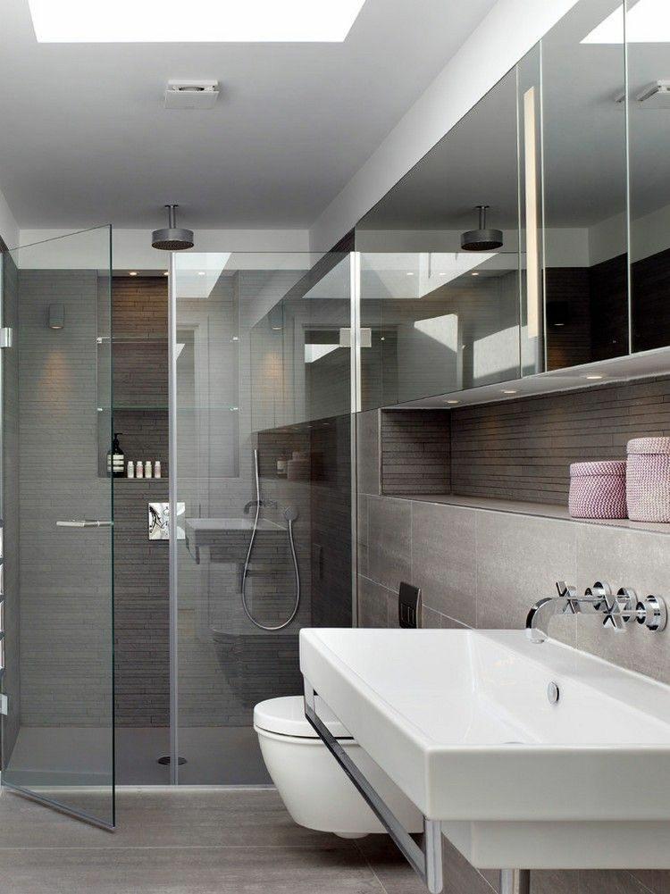 Puertas de ba o minimalistas - Puertas para banos pequenos ...