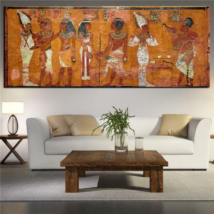 egipto colores paredes salones lineas