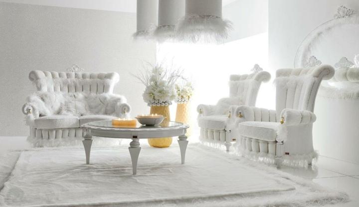 elegantes casas salones puentes ideas muebles amarillo