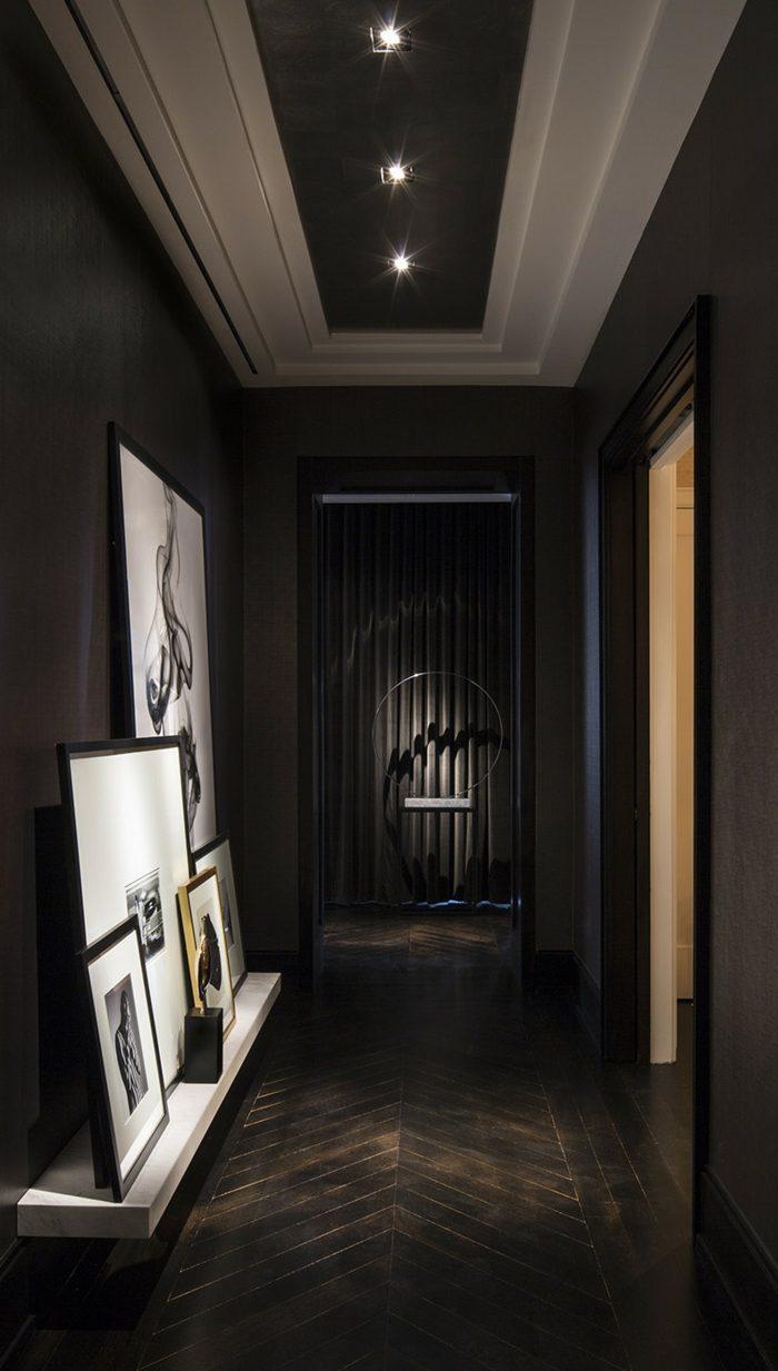 elegantes oscuros salones estilos lineas efecto