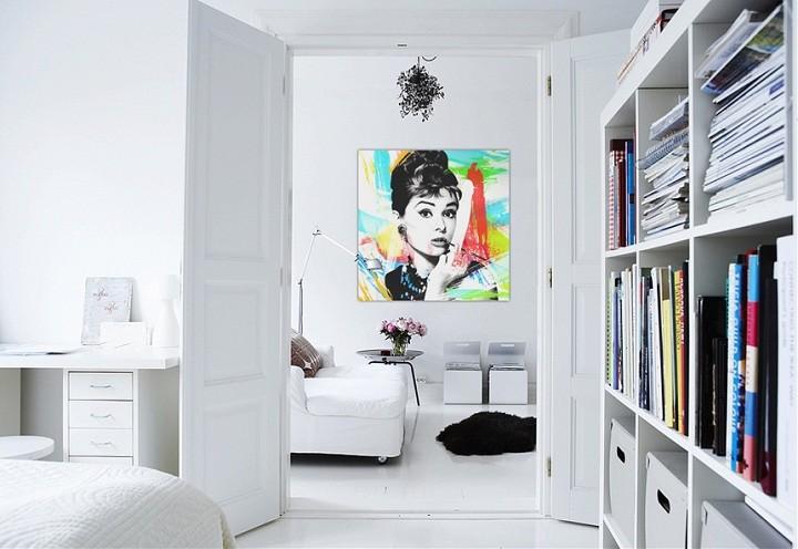 tendencias decoracion paredes paredes habitacion libros