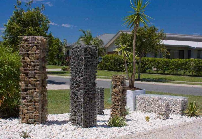 elementos patios salones jardineras