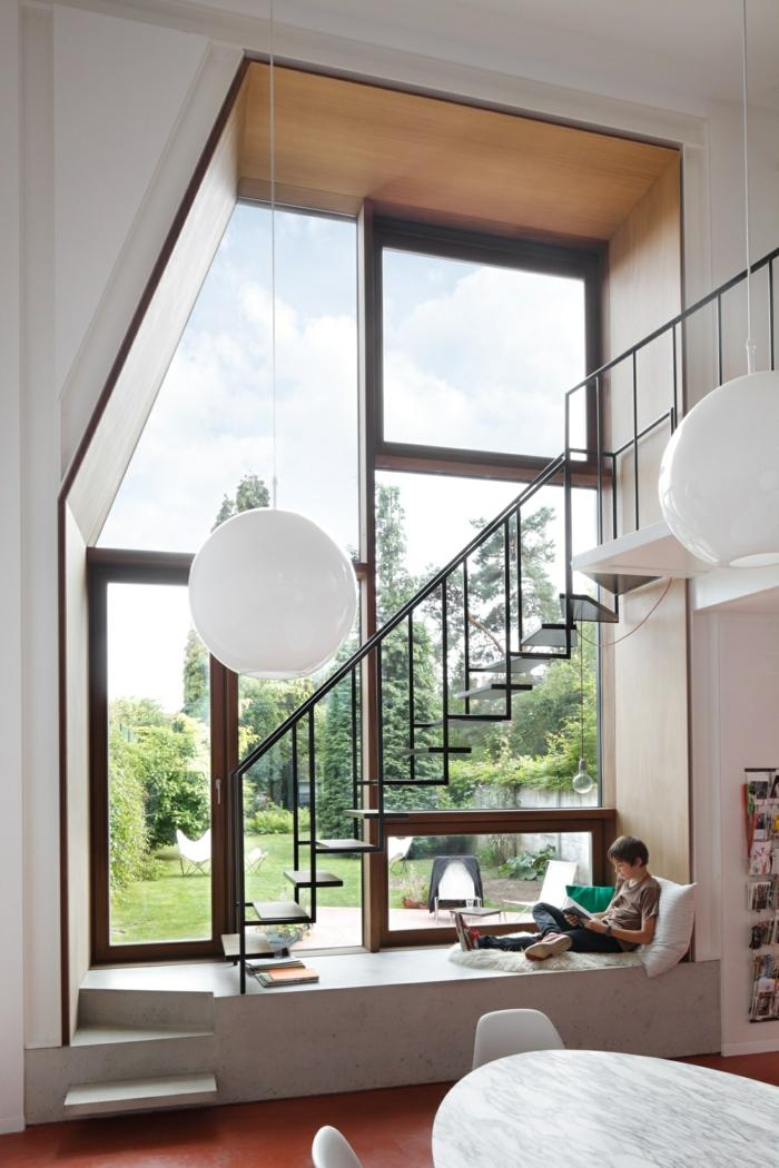 Escaleras creatividad de formas y modelos que rompen la for Formas de escaleras de concreto
