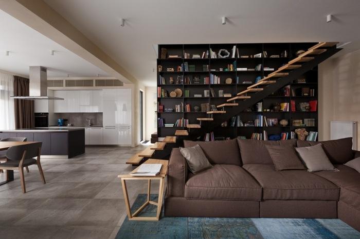 escaleras creatividad mesas colares libreros