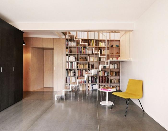 escaleras creatividad salones retos amarillo