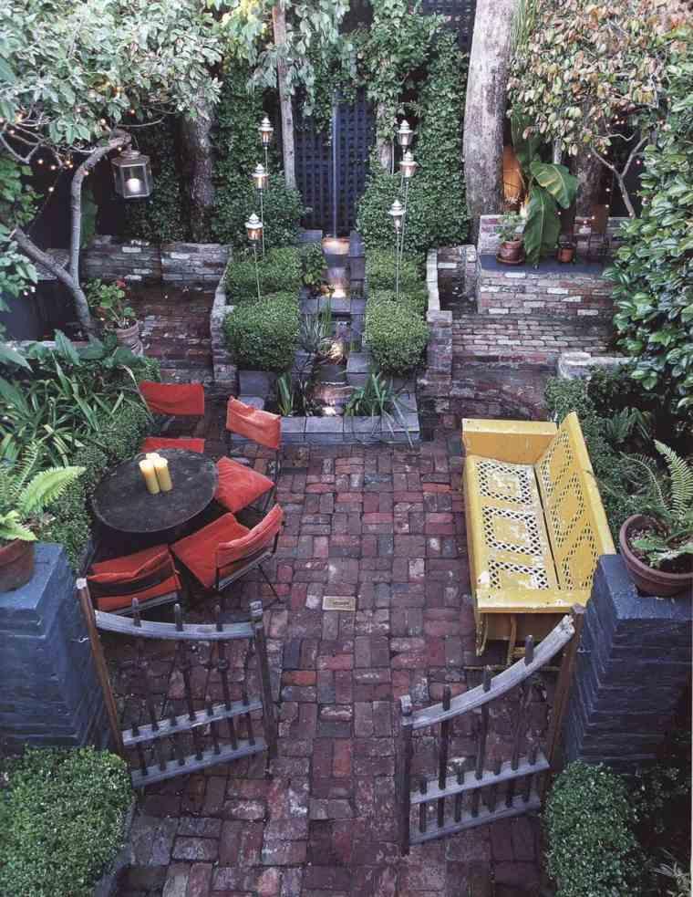 escapadas con encanto opciones jardin pequeno boho chic ideas