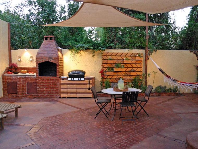escapadas con encanto opciones jardin pequeno cocina exterior ideas