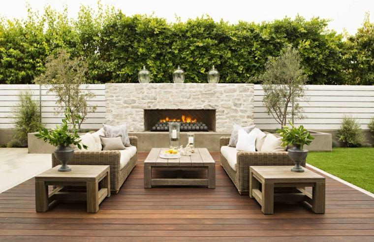 escapadas con encanto opciones jardin pequeno lugar fuego ideas