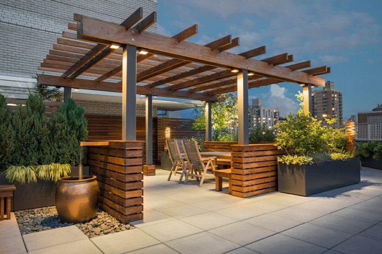 escapadas con encanto opciones jardin pequeno pergola madera ideas